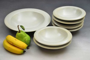 Modern, stylish and timeless, porcelain dinnerware